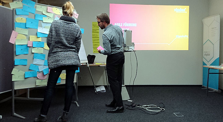 Workshop Agile Führung mit der viadee