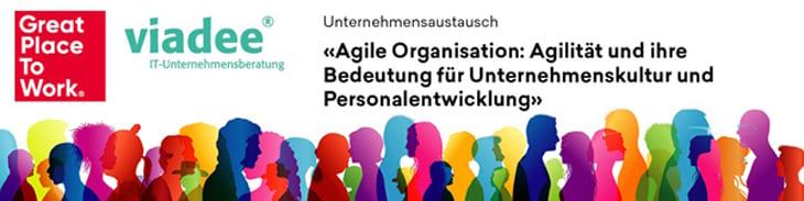 Unternehmensaustausch Agile Führung und Organisation