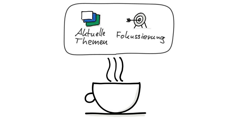 Lean Coffee Aktuelle Themen und Fokussierung
