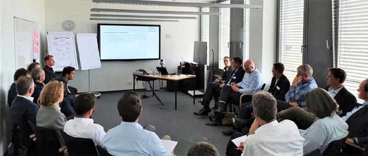 Erster Round Table Agile Führung und Organisation