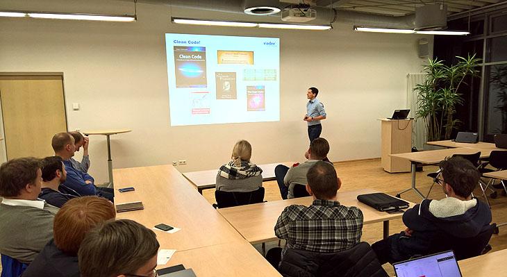 Vortrag während des LNGN Agile Meetups