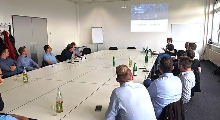 Camunda Meetup Ruhrgebiet mit viadee und Camunda-Gründer Bernd Rücker