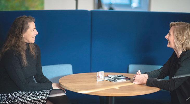 Rita Helter im Interview mit Eloquantum