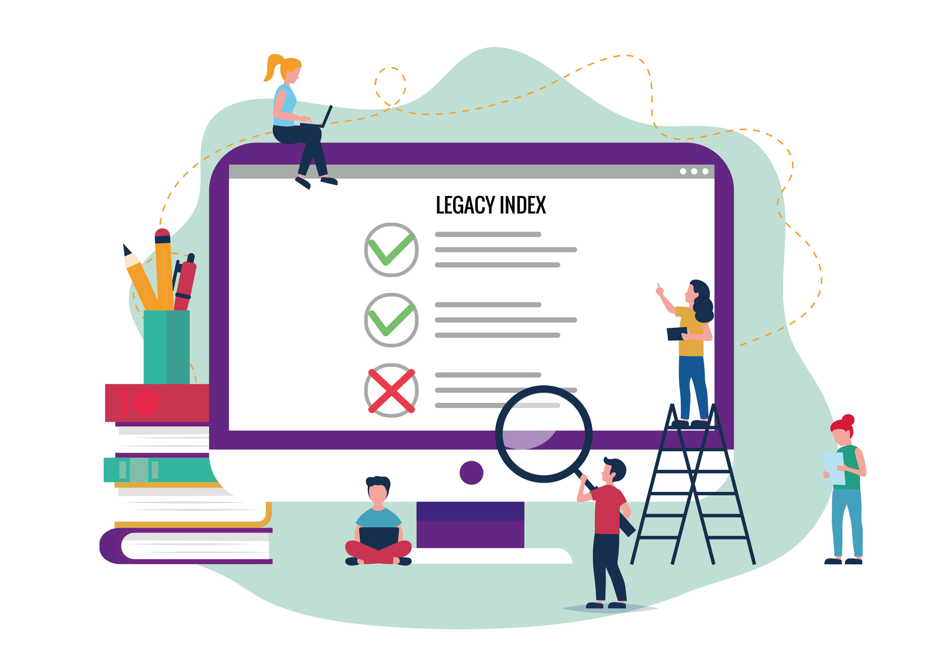 Legacy Index bestimmen
