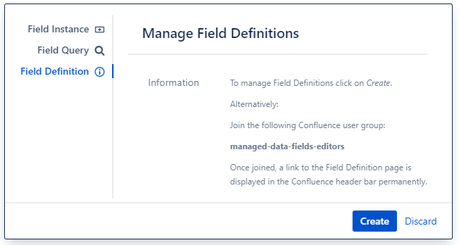 Field Definition Macro Dialog