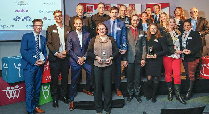 viadee gehört zu den Besten Arbeitgebern in der ITK Branche. Foto: obs/Great Place to Work® Deutschland / Michaela Rehle