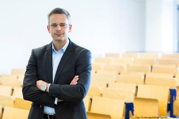 Norman Lahme-Hütig. Foto: FH Münster/Wilfried Gerharz