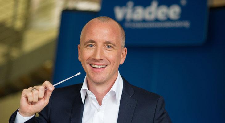 Volker Oshege und seine viadee-Kollegen unterstützen den Kampf gegen Leukämie