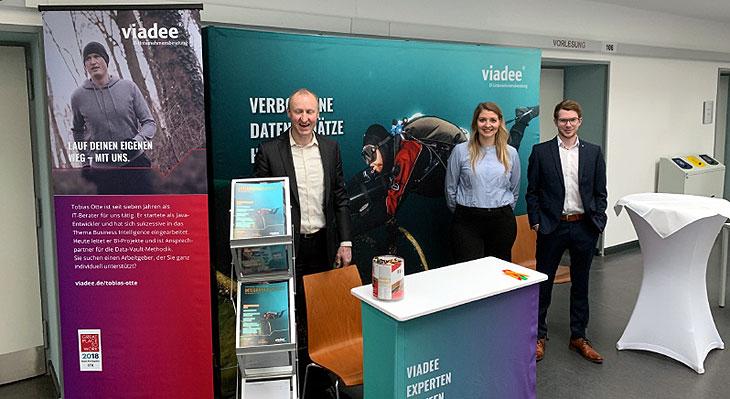 viadee-Stand auf der KSFE Konferenz