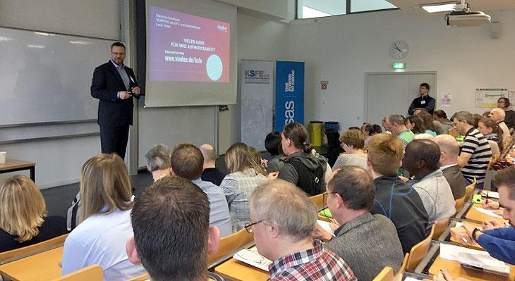 viadee Vortrag auf der KSFE Konferenz