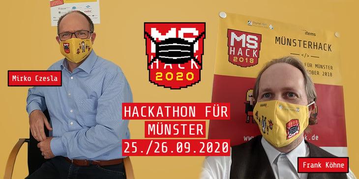 Ankündigung Münsterhack 2020