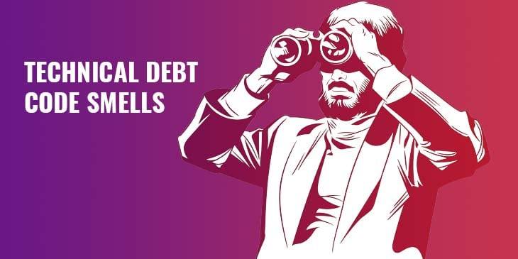 Symbolbild für code smells und technical debt