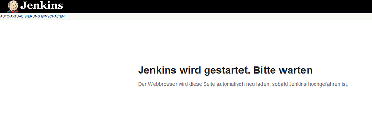 continuous integration jenkins starten