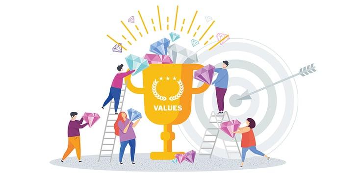 Value Party: Mit Werten die Zusammenarbeit im Team gestalten