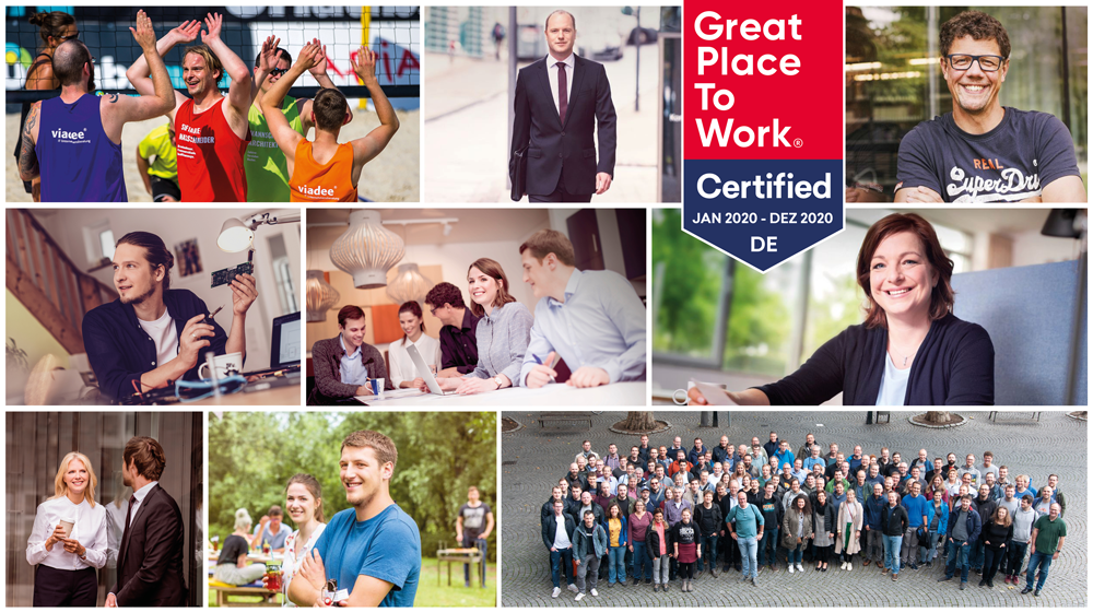 viadee AG Great Place to Work Certified 2020 Fotogalerie