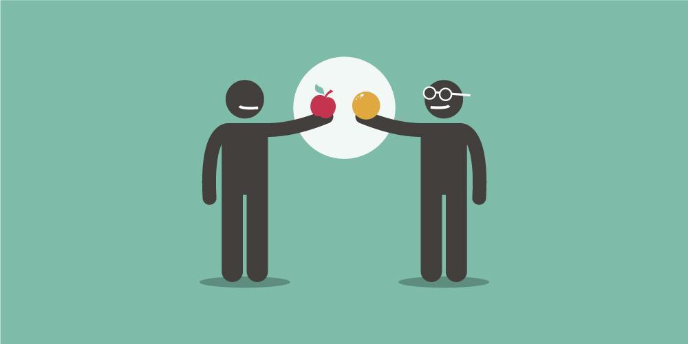 Product Ownership versus Projektmanagement - Ein Vergleich wie zwischen Äpfeln und Orangen
