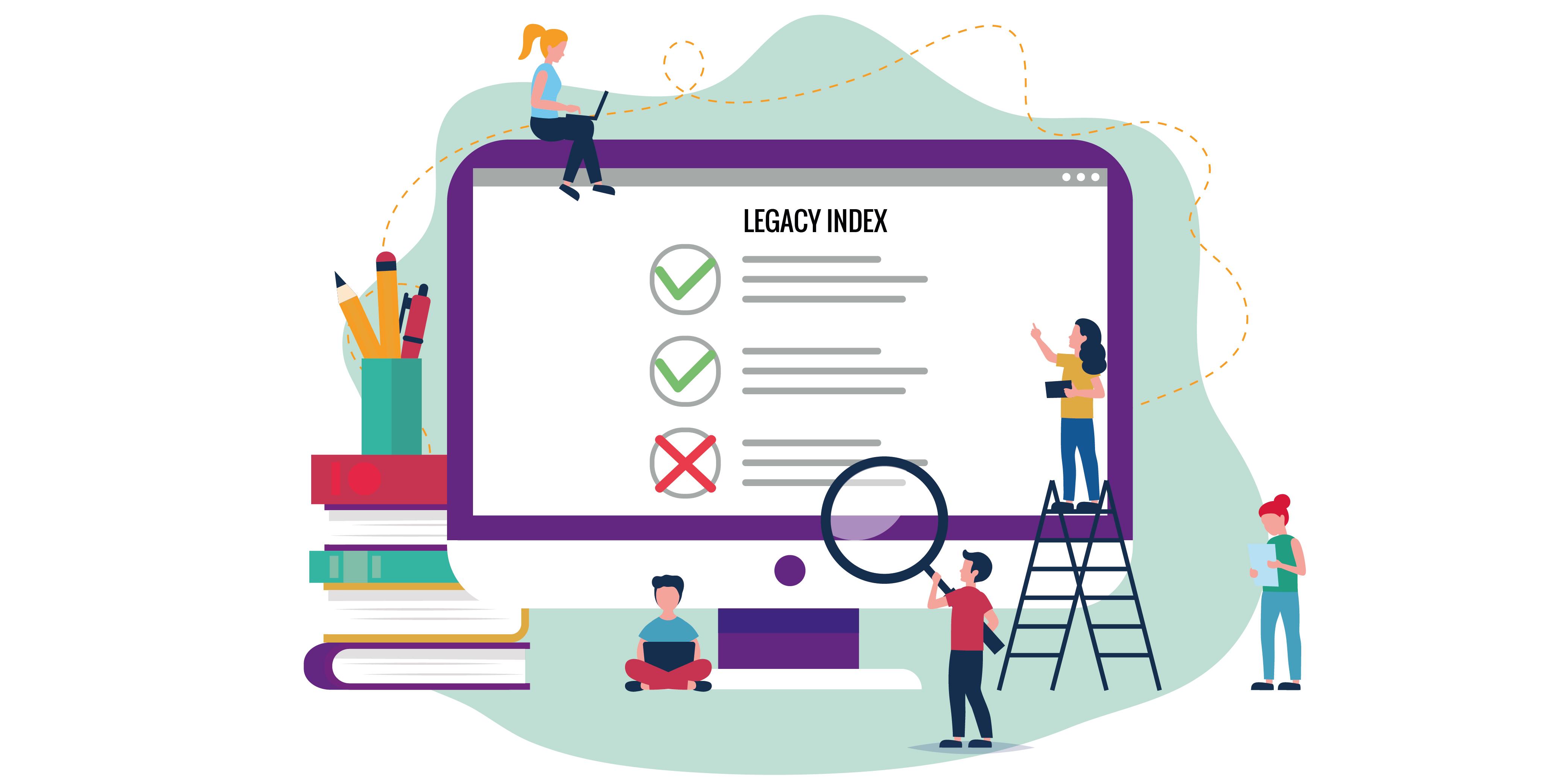 Legacy Index ermitteln