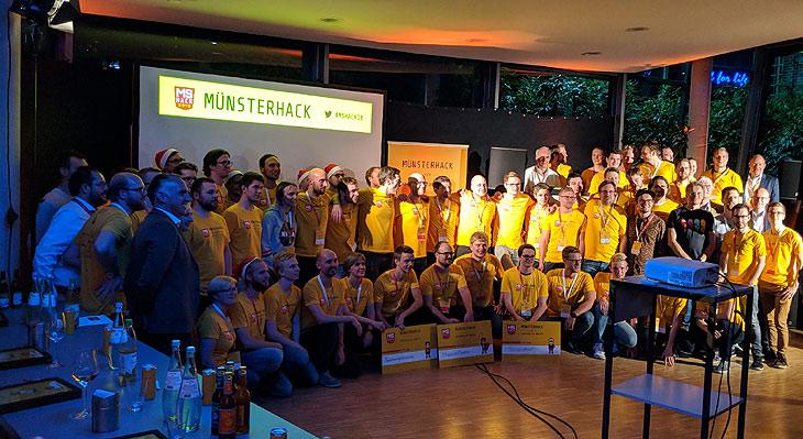viadee auf dem Münsterhack 2018