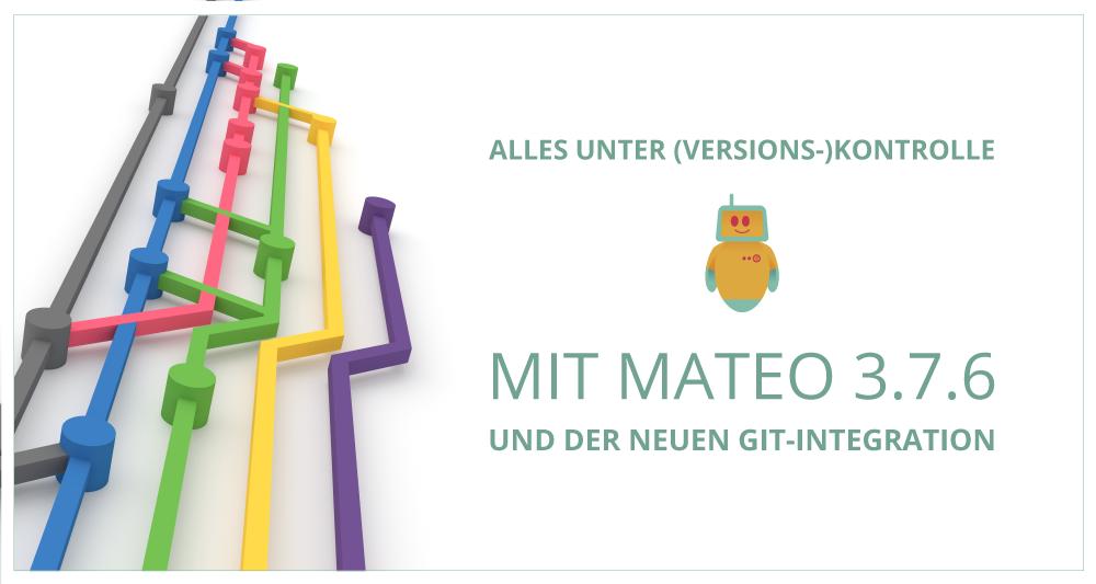 mateo Testautomatisierung verfügt über eine Git-Integration zur Versionskontrolle